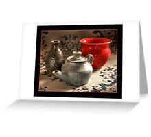 Ceramics Greeting Card