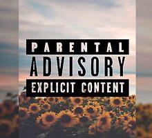 Parental Advisory Explicit Content by macopri