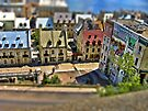 Tilted Toy Town by Nathalie Chaput