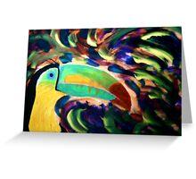 Keel Billed Toucan Greeting Card