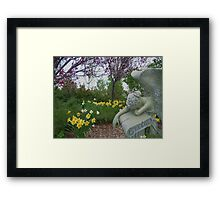 Weeping Angel © Framed Print