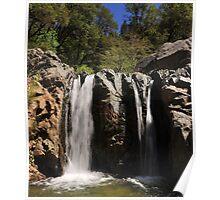 Spring Creek Falls spring runoff Poster