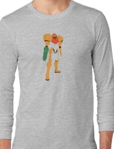 Samus Aran - Varia Suit Long Sleeve T-Shirt