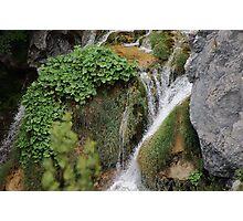 Running water in Croatia Photographic Print