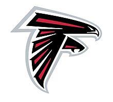atlanta falcons logo Photographic Print