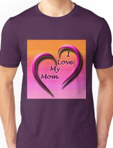 Beautiful Cushions/ Mothers day/ Heart you mom Unisex T-Shirt