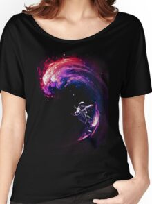 Space Surfing II Women's Relaxed Fit T-Shirt