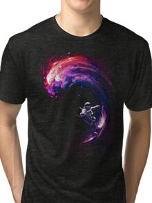 Space Surfing II Tri-blend T-Shirt