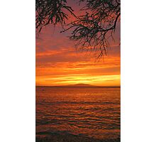 Makena Landing Sunset - Maui Photographic Print