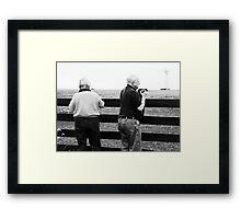 Monochrome Photographers Framed Print