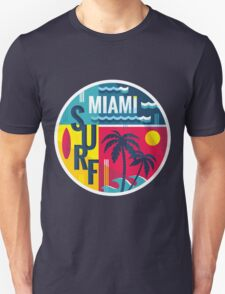 Surf Miami color badge for T-Shirt T-Shirt