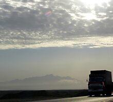 On the road... by Hélène David-Cuny