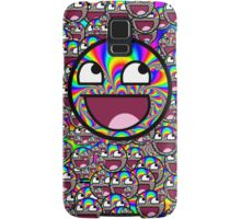 AWESOME MEME FACE - Cool  EFFECT Samsung Galaxy Case/Skin