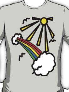 Where the M birds fly  T-Shirt
