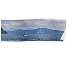 Lake Taupo from Kinloch beach Poster