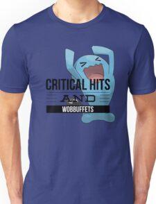Critical Hits and Wobbuffets! Unisex T-Shirt