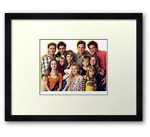 Full House Framed Print
