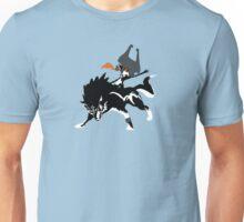 Wolf Link and Midna - The Legend of Zelda: Twilight Princess Unisex T-Shirt