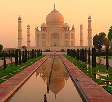 Taj Mahal by zhengjiecn