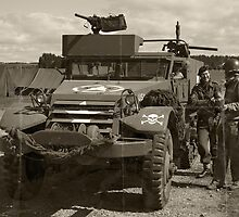 D-Day Build-Up by Peter Lawrie