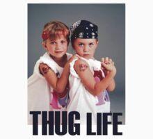 Olsen Twins Thug Life T-Shirt