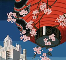 Come to Tokyo - Restored 1930s Travel Poster by Trevor McCabe
