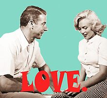 Retro Love. Marilyn & Joe by Charlottesw3b