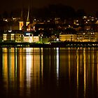 Lucerne by night by GOSIA GRZYBEK