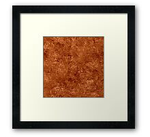 Adobe Oil Painting Color Accent Framed Print