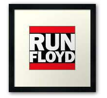 RUN FLOYD - RUN DMC Pacquiao by AiReal Apparel Framed Print