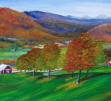 Autumn in the Catskills by Dandelion Dilluvio