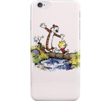 Calvin And Hobbes Funny Custom Artwork iPhone Case/Skin