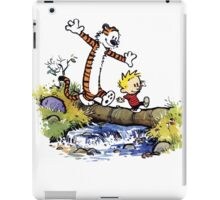 Calvin And Hobbes Funny Custom Artwork iPad Case/Skin