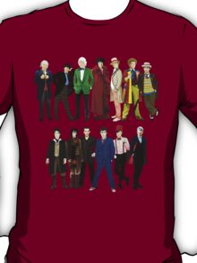 Doctor Who - The 13 Doctors T-Shirt