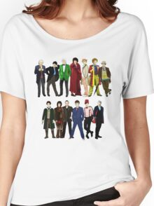 Doctor Who - The 13 Doctors Women's Relaxed Fit T-Shirt