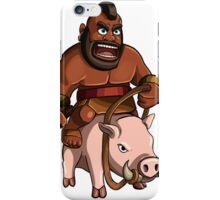 Hog Rider Clash of Clans Art iPhone Case/Skin