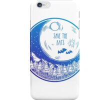 Save the Bats! iPhone Case/Skin