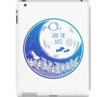Save the Bats! iPad Case/Skin