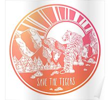 Save the Tigers! Poster