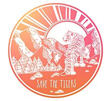Save the Tigers! Photographic Print