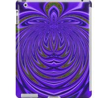 Abstract In Purple. iPad Case/Skin
