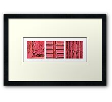 discarded, disused & decayed Framed Print