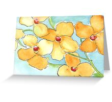 Mystery flowers Greeting Card