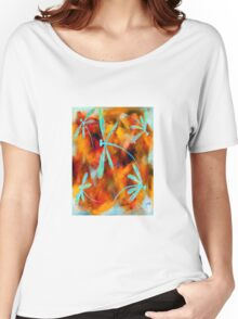 Dragonfly Desert Flit Women's Relaxed Fit T-Shirt