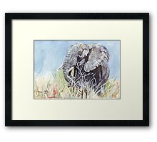 'Time to Retreat' - The Painting Framed Print