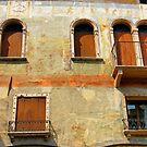 Italian Walls II by Harry Oldmeadow
