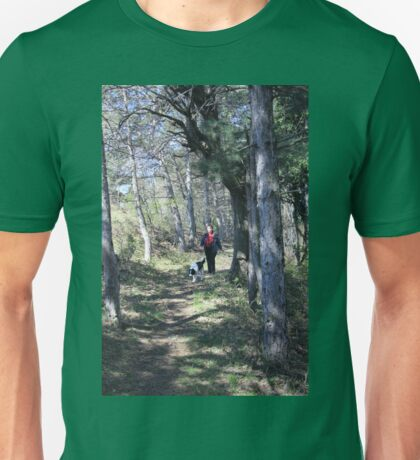 Mariana & Patrick in the Woods Unisex T-Shirt
