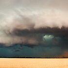 Dangerous Storm Approaches, Dublin South Australia by Greg  Sorenson