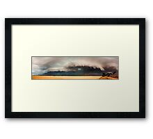 Dangerous Storm Approaches, Dublin South Australia Framed Print