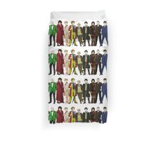 Doctor Who - The 13 Doctors (alternate lineup) Duvet Cover